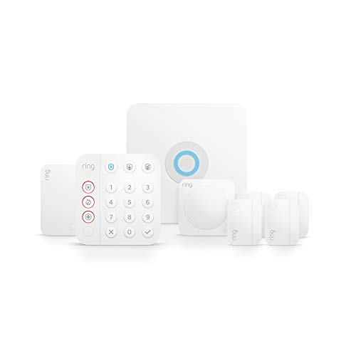 Ring Alarm 8-piece kit (2nd Gen) – home security system with optional 24/7 professional monitoring – Works with Alexa 2