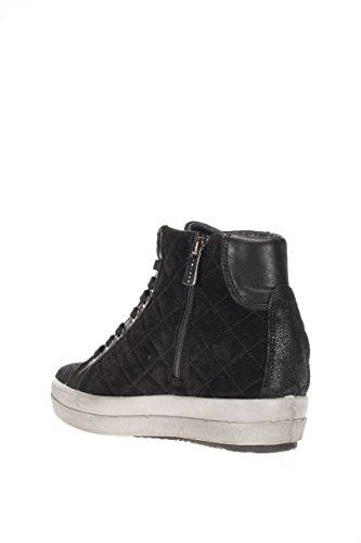 0,25ct–IGI & Co Damen Sneaker High DSY 16752schwarz Sneaker Hohe Schnürung und Reißverschluss Schwarz