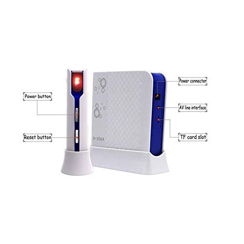 QXMEI Wireless Dance Mat Double Body Massage Light Thickening Dual Purpose,Blue by QXMEI (Image #5)