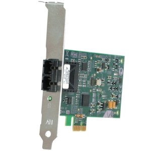 ALLIED TELESIS BOX AT-2711FX/LC-901 32BIT 100MBPS PCIE FAST ENET FIBER ADAPTER CARD AND LC CONNECTOR by ALLIED TELESIS BOX