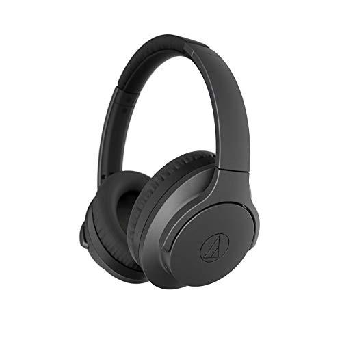 (Audio-Technica ATH-ANC700BT QuietPoint Active Noise-Canceling Headphones | Manufacturer Renewed - Black )