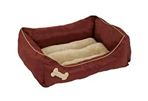 Dosckocil (Petmate) DDS28380 14-Piece Promo Rectangular Lounger Dog Bed Shipper, 22 by 25-Inch