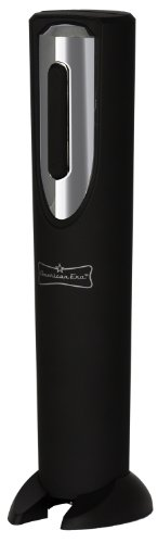 Battery Powered Corkscrew, Electric Wine Bottle Opener with Foil Cutter by American Era