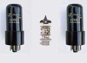 Jellyfish Audio - Kit de Válvula 6V6 & 12AX7 para Amplificadores ...
