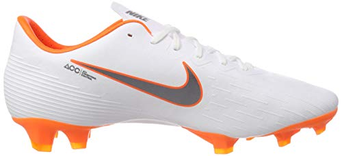 Chaussures Pro Nike Fg total De white Homme Mercurial 12 O chrome Vapor 107 Blanc Football W7qrqXI