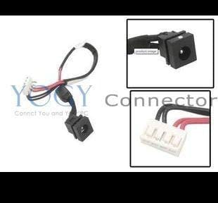 Gimax 10x New Power DC IN Port Jack Socket Connectors Plug with Cable fit for Dell 1425 1427