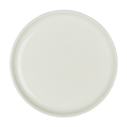 Denby LIN-003B Linen Coupe Dinner Plate, Cream, Medium