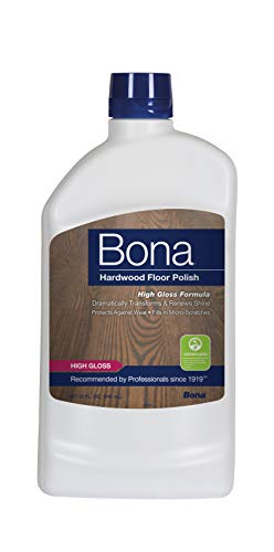 - Bona Hardwood Floor Polish - High Gloss, 32 oz