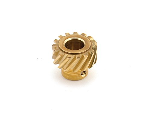 Mallory 29432 Distributor Gear (Bronze, Replaces 28714B)