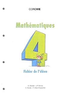 Mathématiques HarmoS 6e : Fichier de l'élève - 1999, Danalet, Claude