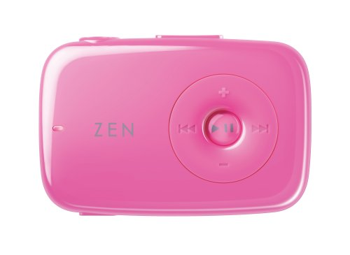 Creative Zen Stone 1 GB MP3 Player (Pink) (Zen Stone Drivers)