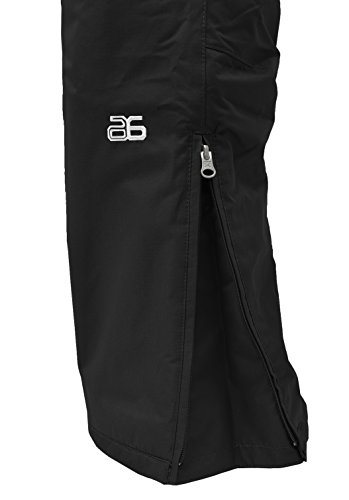 Arctix Women's Insulated Snow Pant, Black, Medium/Regular