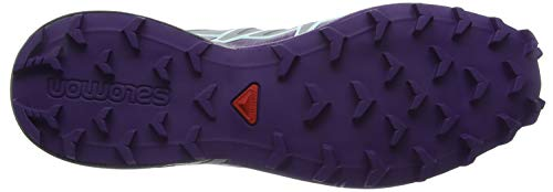 W Traillaufschuhe Quarry Salomon Damen 000 Speedcross Aqua Grau 4 Acai Fair qwg4F
