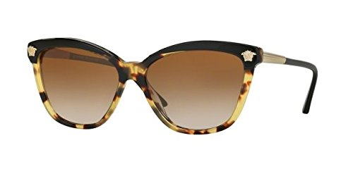 Versace Womens Sunglasses (VE4313) Tortoise/Brown Acetate - Polarized - - Versace Women Shades