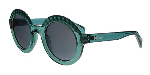 Just Cavalli JC747S 93C Teal Round Sunglasses for Womens