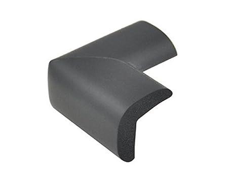 Black 4pcs Esta.east Muebles de Seguridad Infantil Esquinas Afiladas de Protecci/ón Suave de PVC Almohadilla