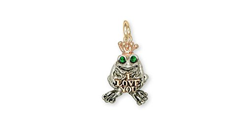 Quality Gold Frog Charm - 6