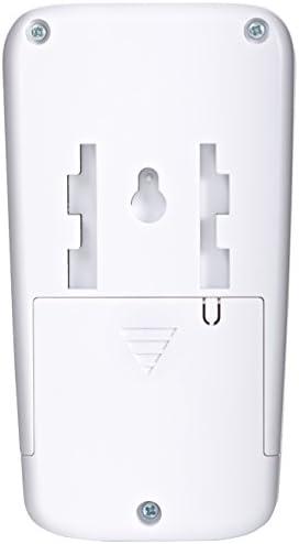Proper P-SAPKW-1 cubierta de alarma de detecci/ón de movimiento con control de teclado Blanco