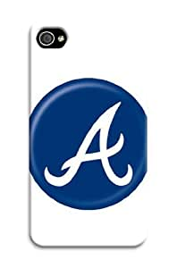 iphone covers Cover For Iphone 5c Atlanta Braves Mlb Pattern Personalised Phone Case WANGJING JINDA