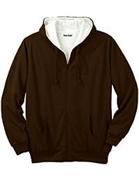 Men's Big & Tall Thermal Lined Full-Zip Hoodie