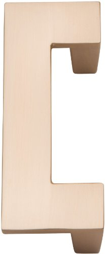 - Atlas Homewares A846-CM U-Turn Collection Champagne 3.1-Inch Length Pull