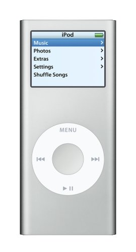 Apple iPod nano 4 GB Silver (2nd Generation)  (Discontinued by Manufacturer) (Nano Ipod Gadgets)