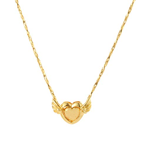 CULOVITY Gold Filled Couple Pendant Necklaces -