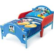 Amazon Com Disney Mickey Mouse Toddler Bed Amp Bedding