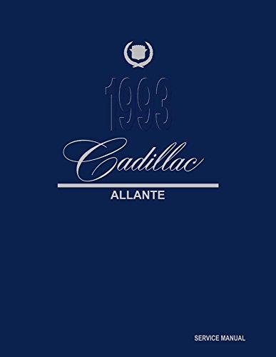 bishko automotive literature 1993 Cadillac Allante Shop Service Repair Manual Book Engine Electrical OEM