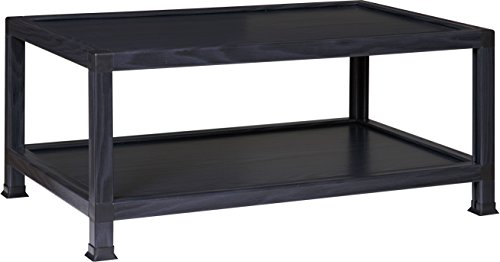 OneSpace 100% Recycled Paper Coffee Table, Black