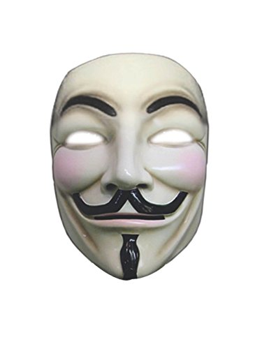 V For Vendetta Collector's Edition Mask Costume,One -