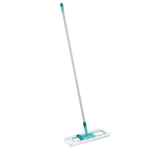 Operated Wiper (Leifheit Profi Floor Wiper Micro Duo with Steel Handle, 42 cm, Mop, 55048)