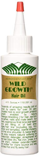Wild Growth Hair Oil 4 Oz (Best Hair Growth Products For African American Hair)