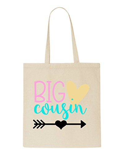 Hearts Cousin Bag Tote Shopper Big Arrow Beige q6CzERw