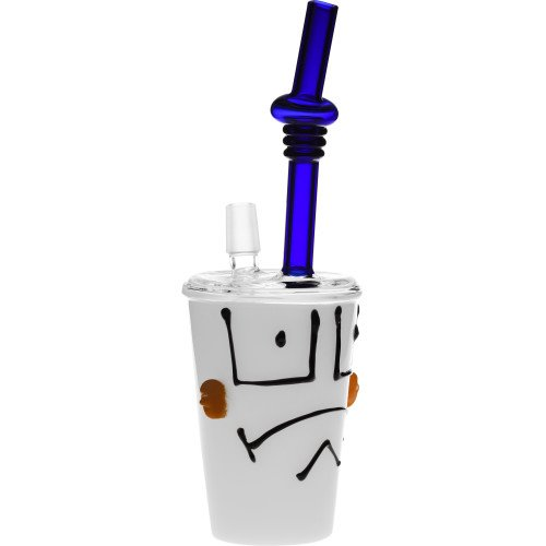 SCIENTIFIC LAB 13-1072 - WP CARTOON CHARACTER FACE DABUCCINO SHAKE CUP 8