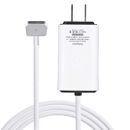 Wakeach 45W Magnetic 2nd-Gen Power Charger Adapter for Apple MacBook Air 11 13 inch, Super Lightweight & Portable