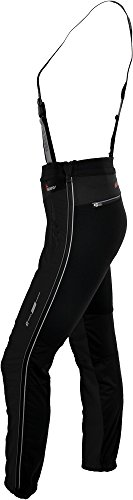 silvini Mujer Deporte Pantalón Pro Forma, 3212de wp323 Negro - negro