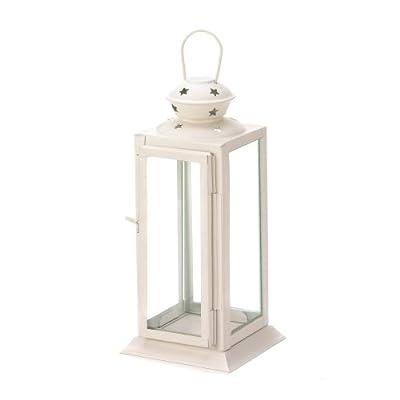 Starlight White Candle Lantern