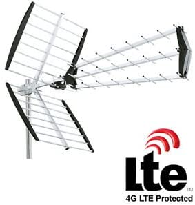 Antena de techo casa TNT tele TV Television UHF con filtro LTE 4 G: Amazon.es: Electrónica