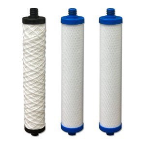 Original Hydrotech RO Reverse Osmosis Water Filters Cartridges Set 3-Pile New