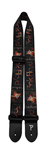 Perris Leathers LPCP-8092 Pink Floyd Guitar Strap, Prisms Lo