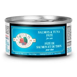 Four Star Salmon/Tuna Canned Cat Food Can, My Pet Supplies