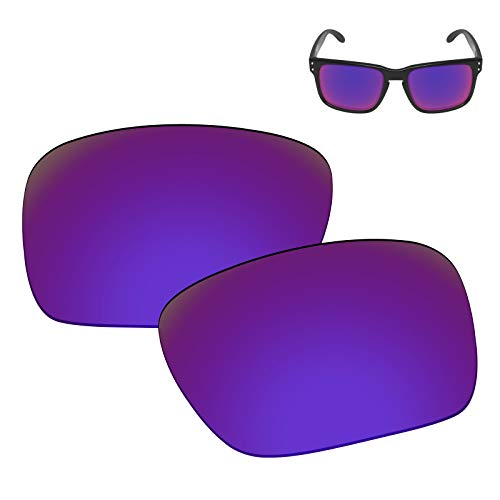 Galvanic Replacement Lenses for Oakley Holbrook Sunglasses - Violet Polarized