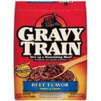 Gravy Train Beef Flavor Dry Dog Food (Gravy Train Beef Flavor)