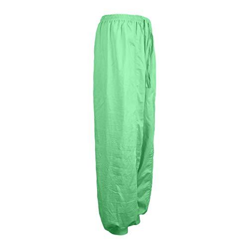 Casual Unita Tinta da Simple Spiaggia Verde Fashion da Baggy Yoga Trousers Giovane Moda Harem Pantaloni Pants Donne di Lungo Lanterna RRSxwBq