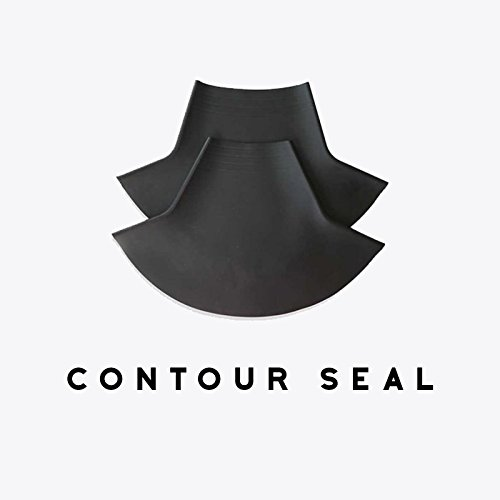 "Gear Up Guide Contoured Latex Neck Seal, Conical Shape, Small (Trimmable) / 10.5-13.5"" Neck"