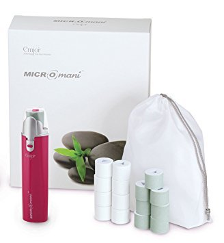 Emjoi Micro-Mani Nail Polisher with Smooth and Shine Rollers (Pink)