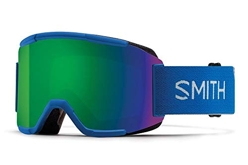 a2cd6138081 Smith Optics Squad Adult Snow Goggles - Imperial Blue Chromapop Sun Green  Mirror One Size