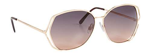 Maurices Women's Oversized Sunglasses With Cut Out Sides Misc - Sunglasses Out Cut