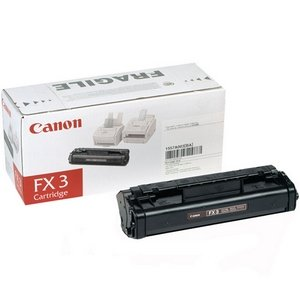 Canon FX-3 (Canon FX3 / 1557A002BA) Laser Toner Cartridge - Black, Works for LaserClass 2050P, LaserClass 2060, LaserClass 2060P, LaserClass 300
